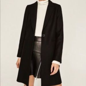 NWT Zara Black Coat